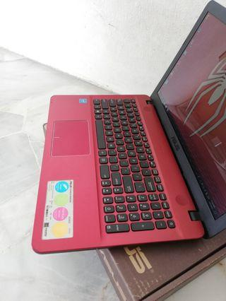 Asus, 4GB, 500GB, 15.6 inch Display, Red Edition