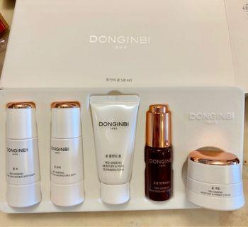 Donginbi red ginseng luxury skin care set