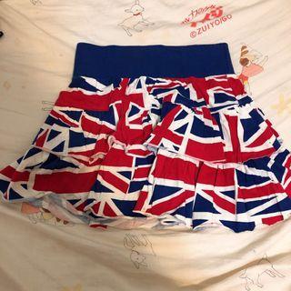 執屋清貨!英國🇬🇧國𣄃半截裙 uk flag Skirt