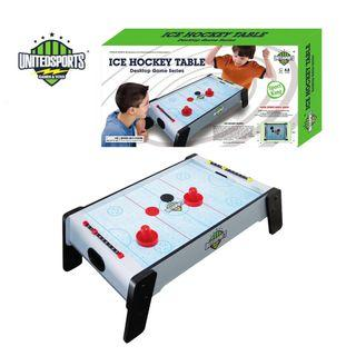 United Sports, 24-Inch Wooden Air Hockey Table Game, Fun Sports Game