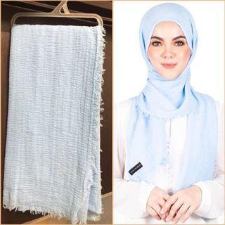 Mumu Scarves Arabic Shawl (Baby Blue)