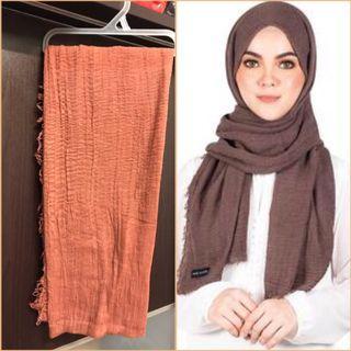 Mumu Scarves Arabic Shawl (Brown)