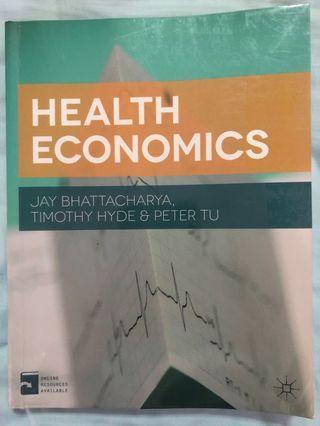 EC4353 Health Economics by Bhattacharya, Hyde & Tu