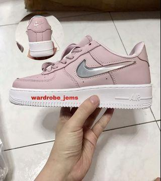 Nike airforce pink pudding jelly