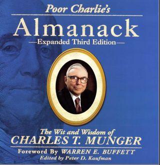 🚚 Poor Charlie Almanack 3rd edition