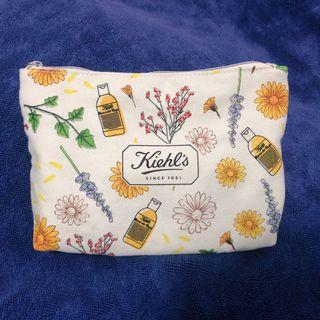 Kiehls 化妝袋 makeup bag/收納袋