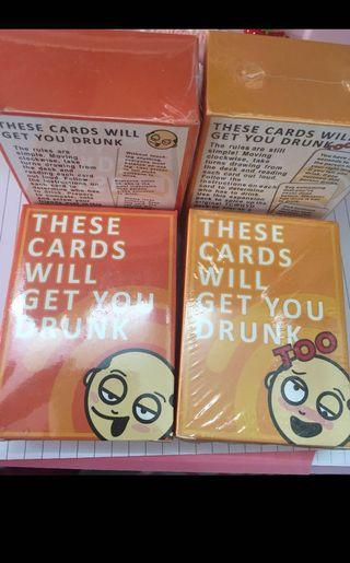 🚚 [2 for $22] These cards will get you drunk