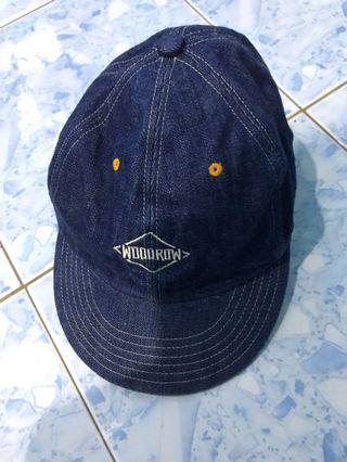 Woodrow denim cap made in Nippon🇯🇵🇯🇵🇯🇵