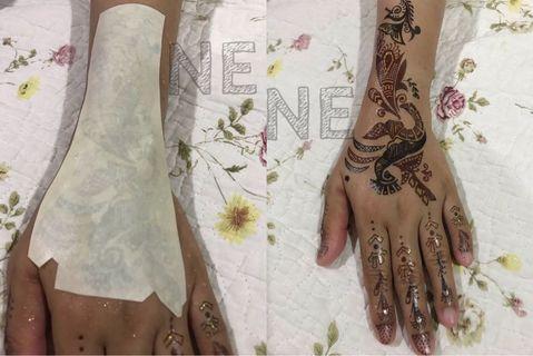 Henna Sticker