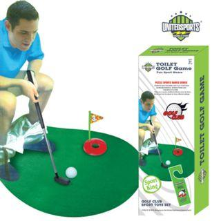 🚚 United Sports, Toilet Golf Game, Fun Sports Game