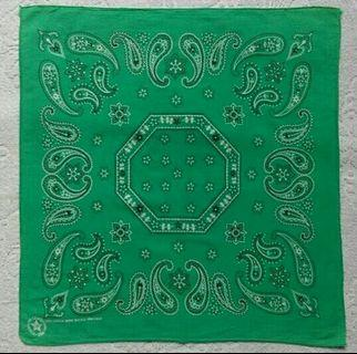 Preloved CRAFTED WITH PRIDE IN AMERICA Bandana Made in USA