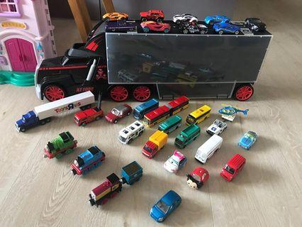 Fast Lane Truck Carrier Case with toy car