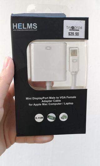 🚚 Apple Mini DisplayPort to VGA