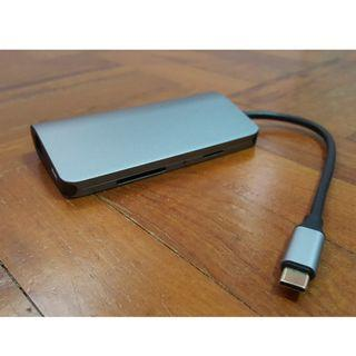 USB Type C 3.1 Hub (8 in 1) *unstable HDMI port