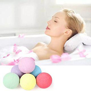 Epsom Salts Bath Bombs SPA for Stress Relieve and Enjoyment - Direct From Importer excellent Gift! Choose From 6 different flavors