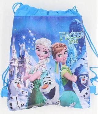 🚚 Frozen & Pony Drawstring Bag