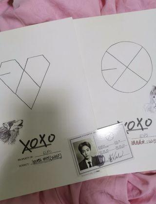 exo XOXO album + pc