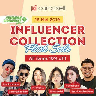 10% OFF INFLUENCERS FLASH SALE