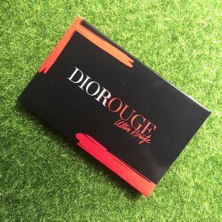 🚚 【全新】-Dior-口紅試色卡