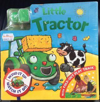 Little Tractor 🚜 Fold-Out Play Track Board Book