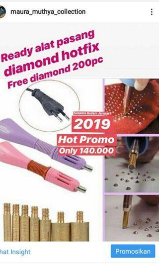 Alat Pasang Diamond Free 200pc Diamond