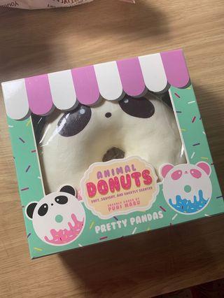 Panda Donut Squishy