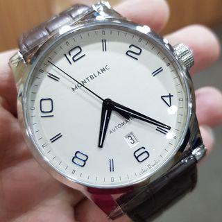 Montblanc TimeWalker Date Silver Dial Men's Automatic Watch 110338