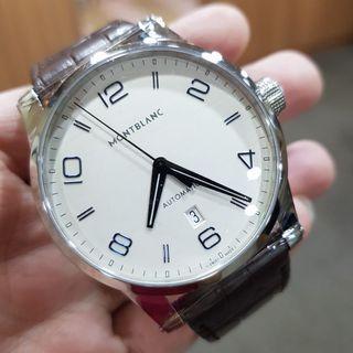Montblanc TimeWalker Date Silver Dial Men's Automatic Watch