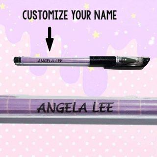 Customized gel pens