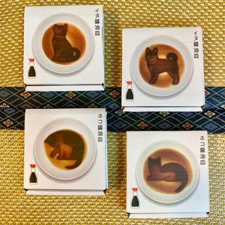 (現貨)日本動物造型鼓油碟