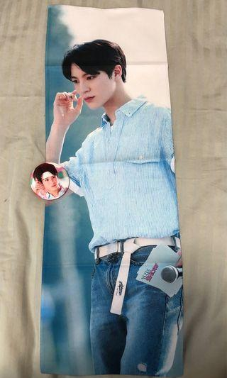 🚚 NCT DREAM Jeno Fansite Reflective Slogan Set