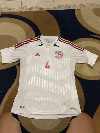 Jersey Bola Denmark Agger 2012