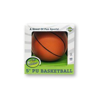 🚚 5-inch PU Basketball for Toddlers
