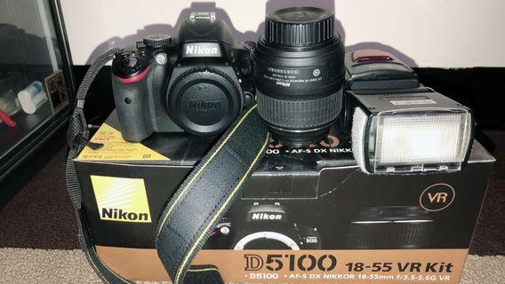 D5100+18-55VR kit