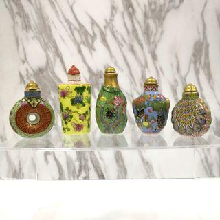 Exquisite Porcelain fine art work Snuff Bottle 瓷鼻烟壶