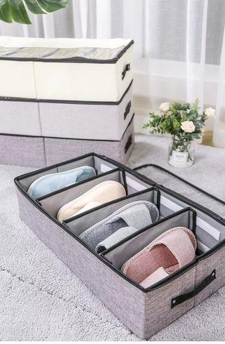 🚚 Shoes Storage Compartment