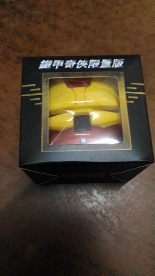 限量版復仇者聯盟(非賣品)鐡甲奇俠Iron Man Q版公仔泵頭
