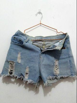 #BAPAU BKK hotpants denim