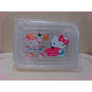Hello Kitty 45th_保鮮盒 收納盒 塑膠保鮮盒 ㊣ KT