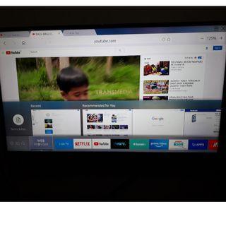 Jual Samsung Smart TV UHD 40 inch KU6000 Series 6