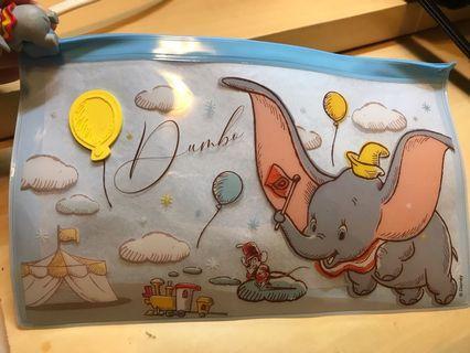 7-11迪士尼小飛象旅行收納袋