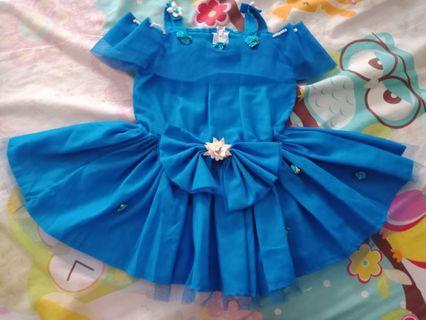 #BAPAU dress anak perempuan. Baby girls princess clothing