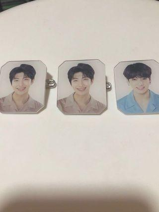 BTS Love Yourself Tour acrylic badge
