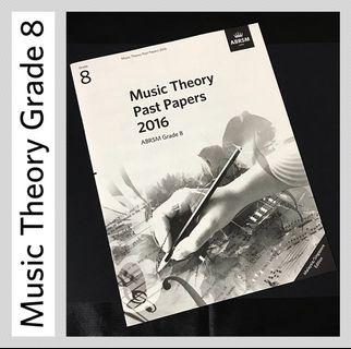 ABRSM 2016 Grade 8 Music Theory Past Papers