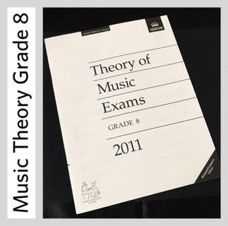 ABRSM 2011 Grade 8 Music Theory Past Papers