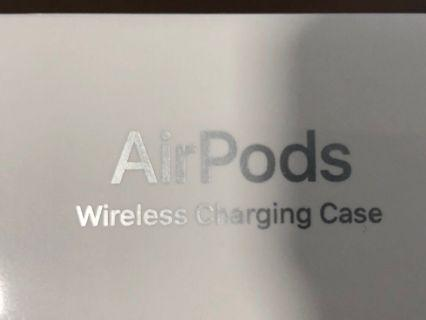 正版Airpods 2 (Wireless Charging) -未開盒