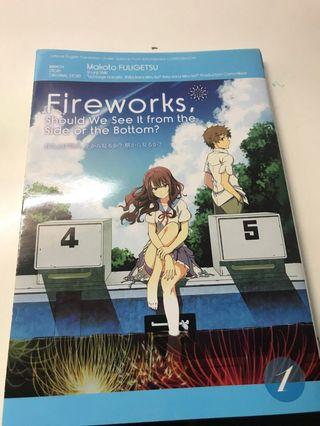 FIREWORKS should we see it from the side or bottom BOOK 1