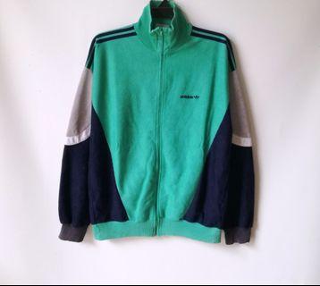 Vtg 80s Adidas Multicolor Tracktop
