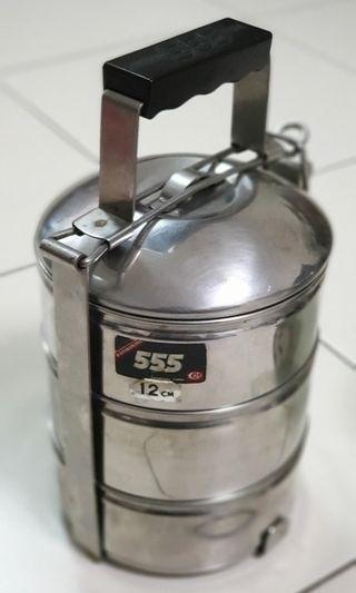 555 12cm stainless steel tingkat