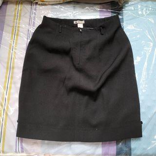 斯文韓國有彈性黑裙